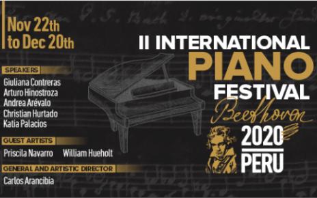 Festival Internacional de Piano de Trujillo