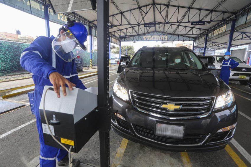 certificado de inspección técnica vehicular