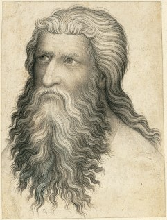 Working Title/Artist: Head of a Bearded Man, Bohemia Department: Drawings & Prints Culture/Period/Location: HB/TOA Date Code: Working Date: photography by mma, 2003.29.tif touched by film and media (jnc) 5_13_09