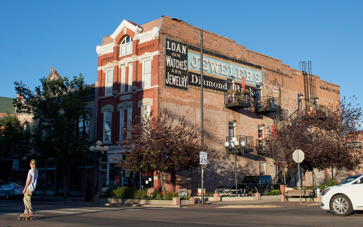 Downtown Pueblo, Colorado