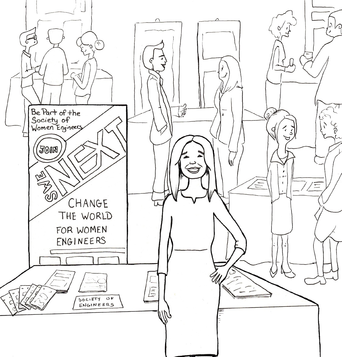 Women Are Underrepresented in Science. Can a Coloring Book