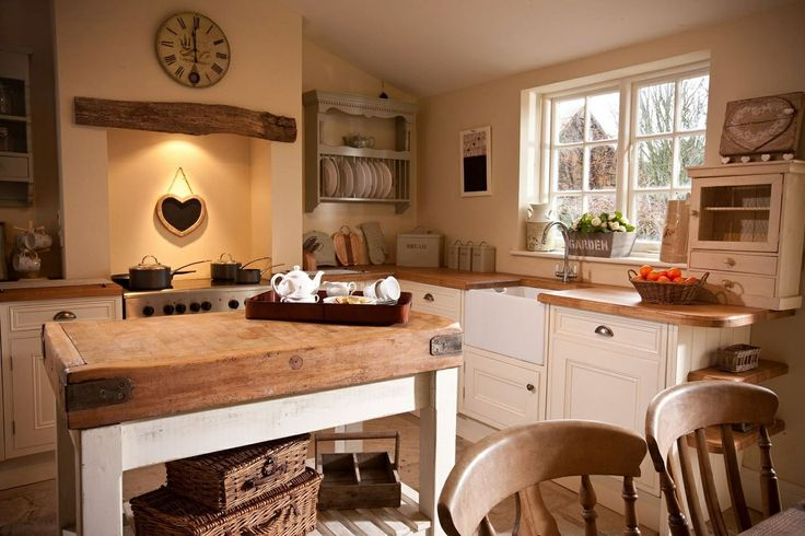 Ingredients That Make Up A Country Cottage Kitchen