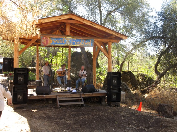 Music goes on all day at the Harvest and Peace Festival