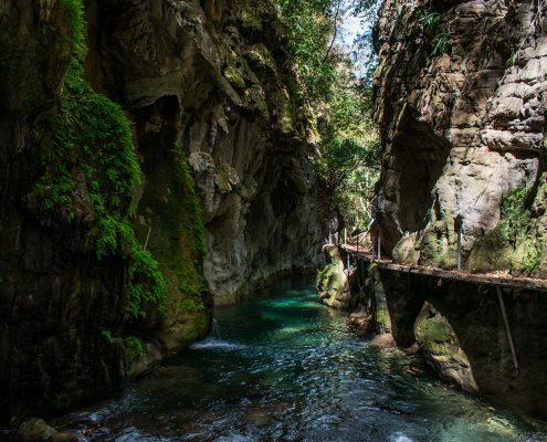 Ro Escanela  Puente de Dios  Sierra Gorda Ecotours