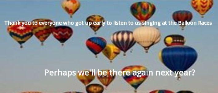 Balloon thankyou