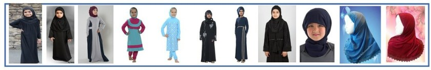 Girls Abaya and Hijab