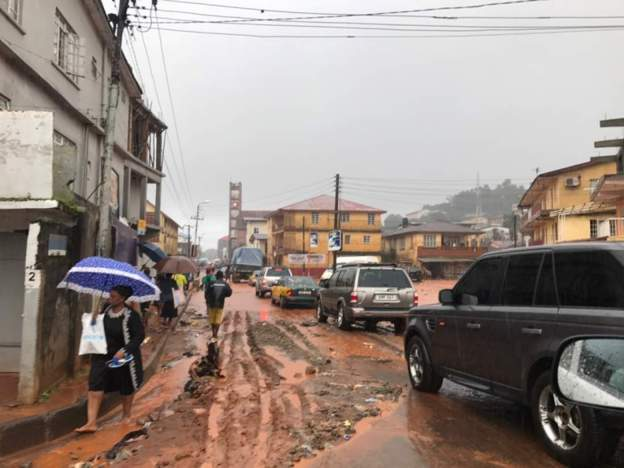 Freetown after the flooding