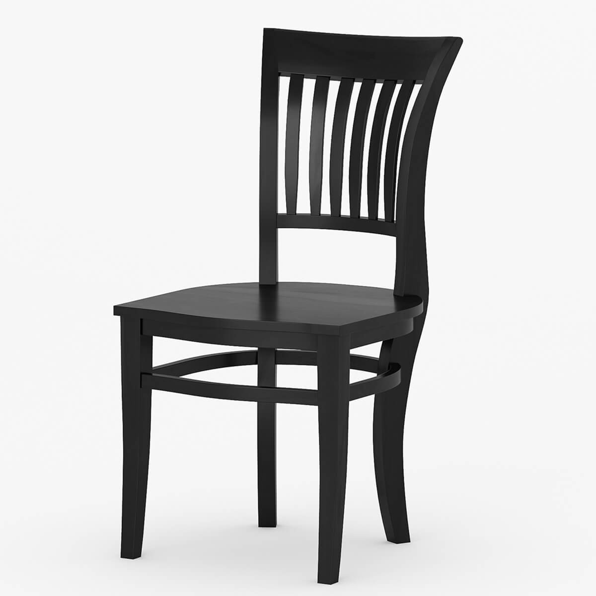 Unfinished Dining Room Chairs Sierra Nevada Solid Wood Kitchen Side Dining Chair Furniture