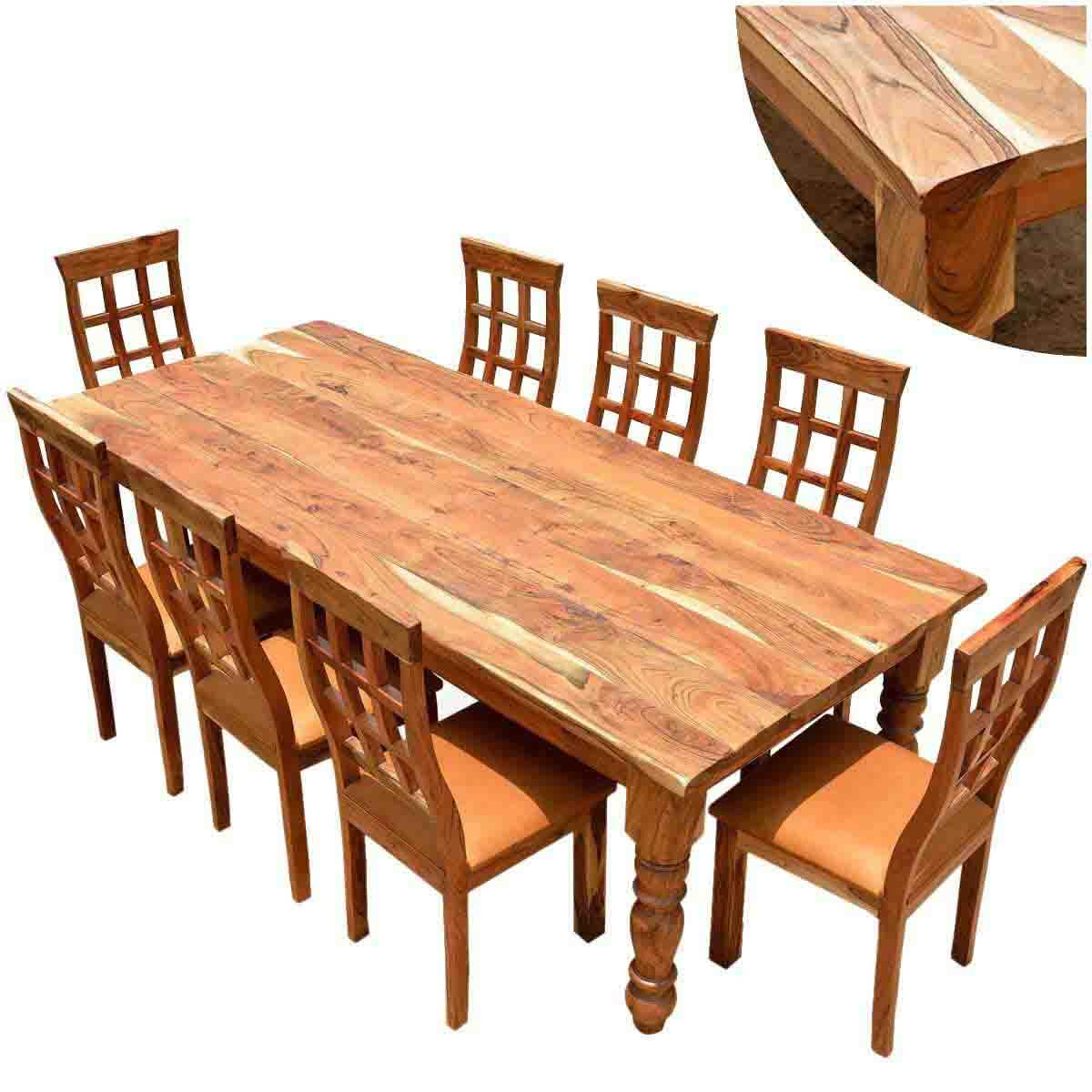 Rustic Wood Chairs Rustic Dining Table And Chair Sets Sierra Living Concepts