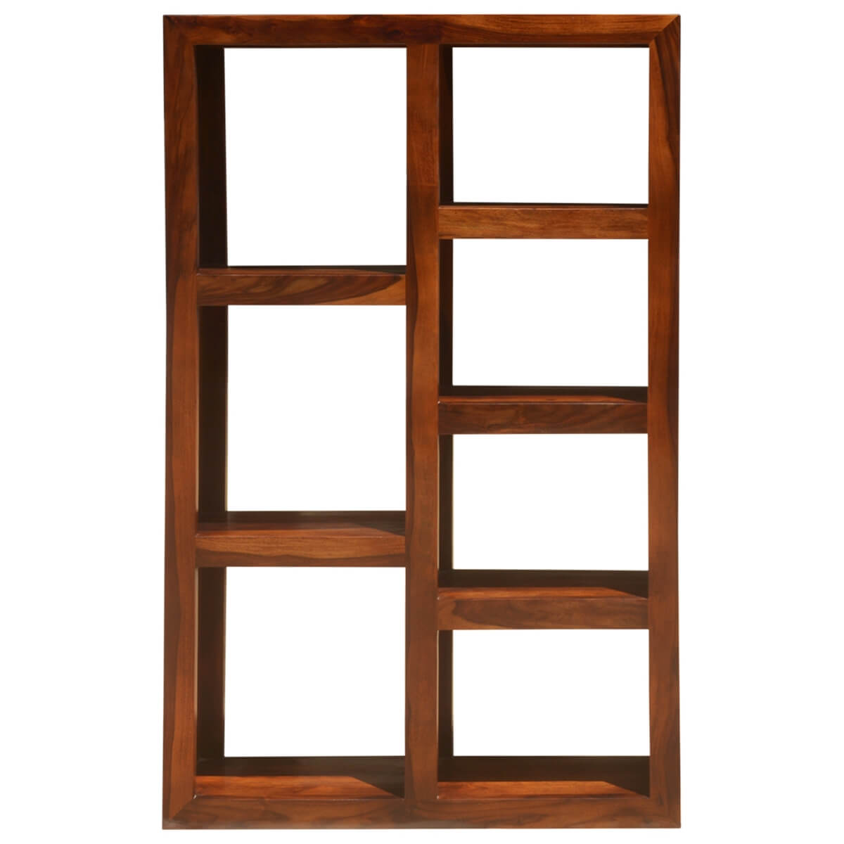 Solid Wood Modern Display Rack Cube Bookcase Shelf Room