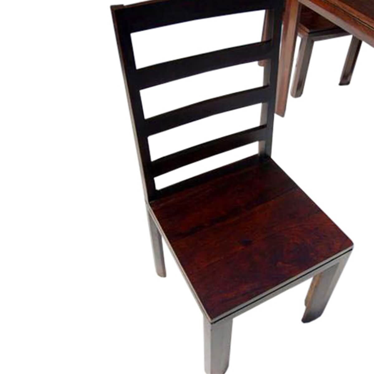 Unfinished Dining Chairs Solid Wood Transitional Dining Table And Chairs Set