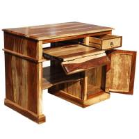Solid Wood Computer Desk For Small Space