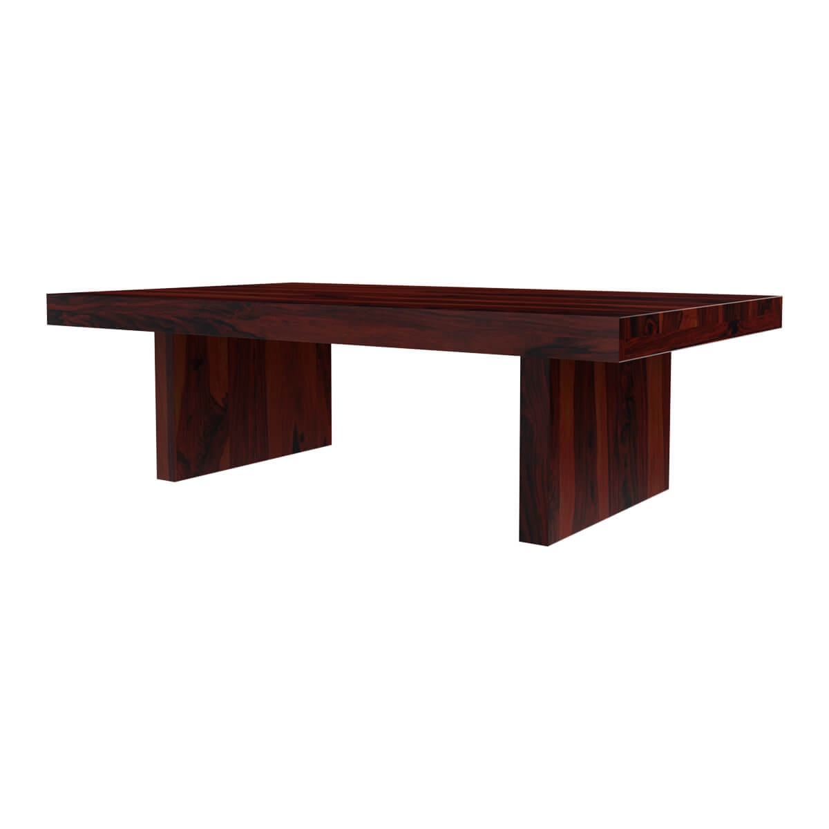 Jayton Contemporary Rustic Solid Wood Cocktail Coffee Table