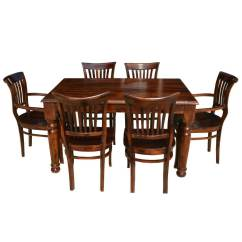 Barrel Dining Chairs Set Of 2 Recycled Adirondack Lincoln 7 Piece Contemporary Room Table And