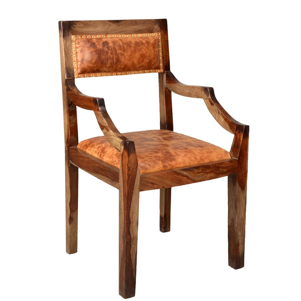 Upholstered Dining Chairs Imperial Solid Wood And Leather Upholstered Dining Chair
