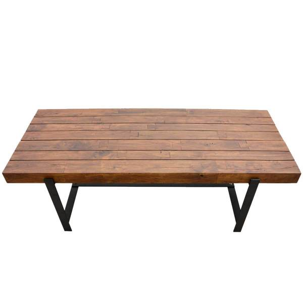 Large Rustic Wood Dining Table