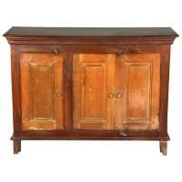 Two Tone Reclaimed Wood Sideboard Buffet Cabinet