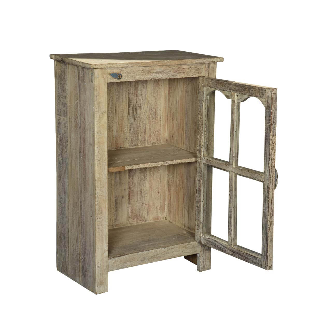 Palisade Reclaimed Wood Storage Console Cabinet