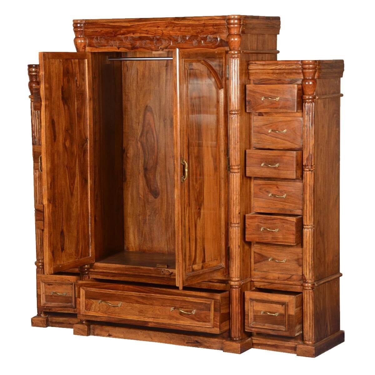 Royal Elizabethan Solid Wood 15 Drawer Large Bedroom