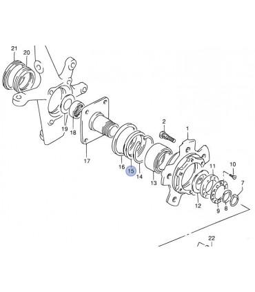 Reten (54X69X7.5X9.5) eje rueda delantera JAPON