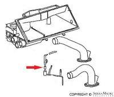 Porsche Parts Fuel Filter Fastener Angle, 911 (69-76)