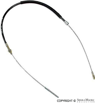 Porsche Parts Parking Brake Cable, 911/912/930/912E (69-85)