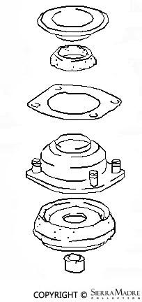 Porsche Parts Converter Mounting Plate, 924/944 (86-91)