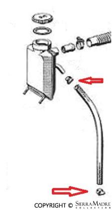 Porsche Parts Oil Breather Tube Grommet, 356/912 (50-69)