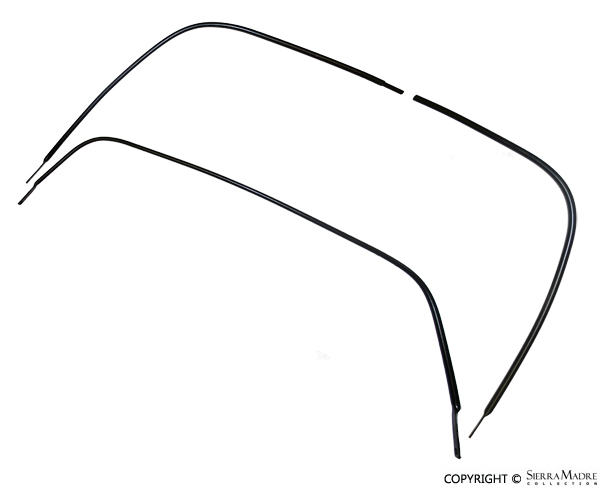 Porsche Parts Targa Soft Window Frame & Kit, 911/912 (67-69)