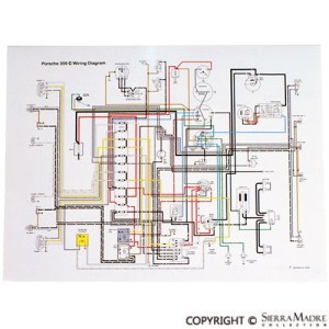 Porsche Parts Full Color Wiring Diagrams (5073)