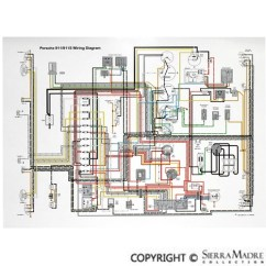Porsche 911 964 Wiring Diagram Ford Ka 2010 Radio Parts Full Color Diagrams 50 68 Back To List