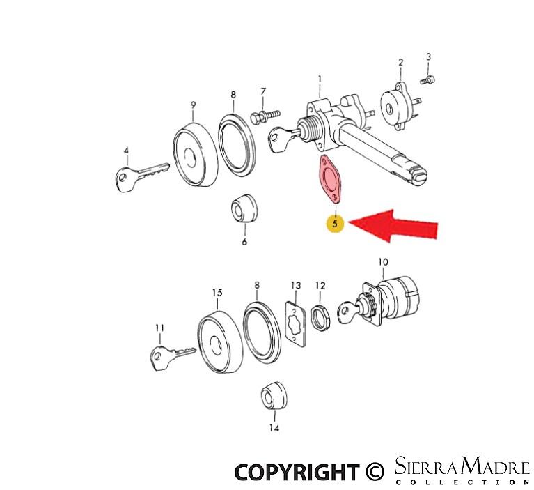Porsche Parts Insert, 911 (70-86)