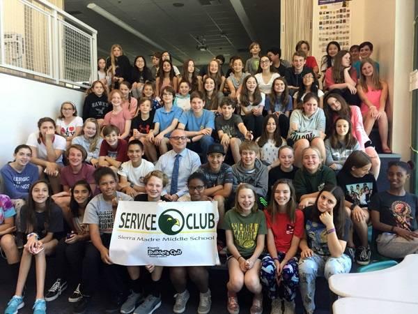 Builders Club Sierra Madre Kiwanis Sierra Madre Middle School
