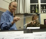 Guest Conductor Dr. Robert Halseth & Flute Soloist Laurie Piner