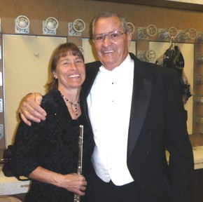 Laurie Piner & Bill Hill