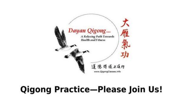 Qigong Practice At Sierra Senior Center