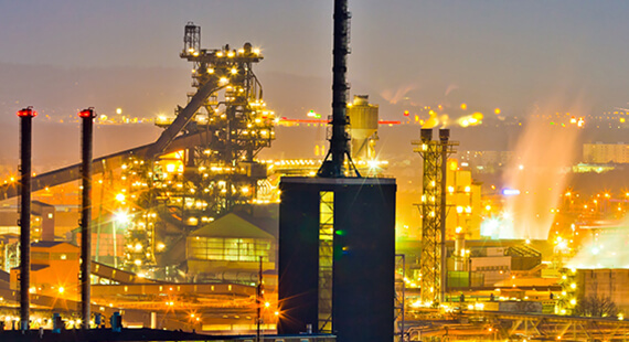 Image of oil refinery