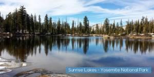 Sunrise Lakes Yosemite National Park