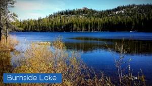 Burnside Lake Alpine County CA