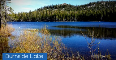 Burnside Lake Alpine County CA