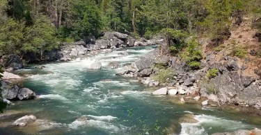 North Fork Stanislaus River- At Calaveras Big tree State Park