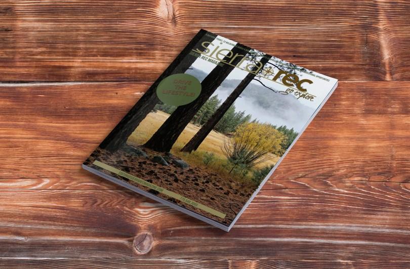 Sierra Rec Magazine Mockup