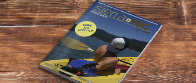 Sierra Rec Magazine cover Mock-up summer