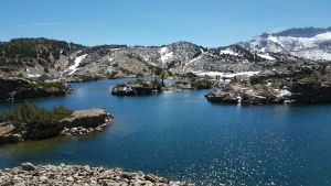 shamrock Lake- 20 lakes basin