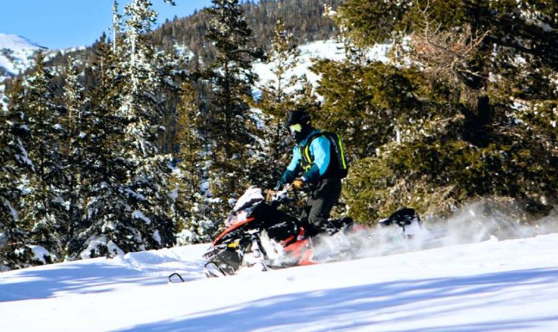 Snowmobile North Lake Tahoe
