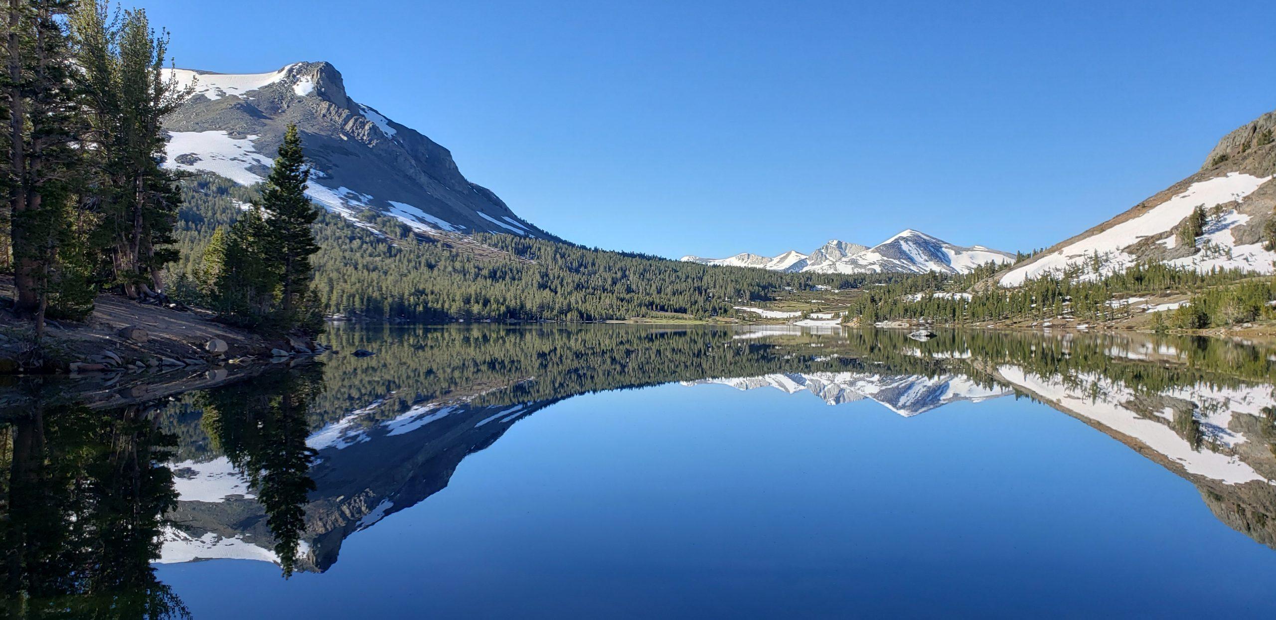 Tioga Mountain Reflections