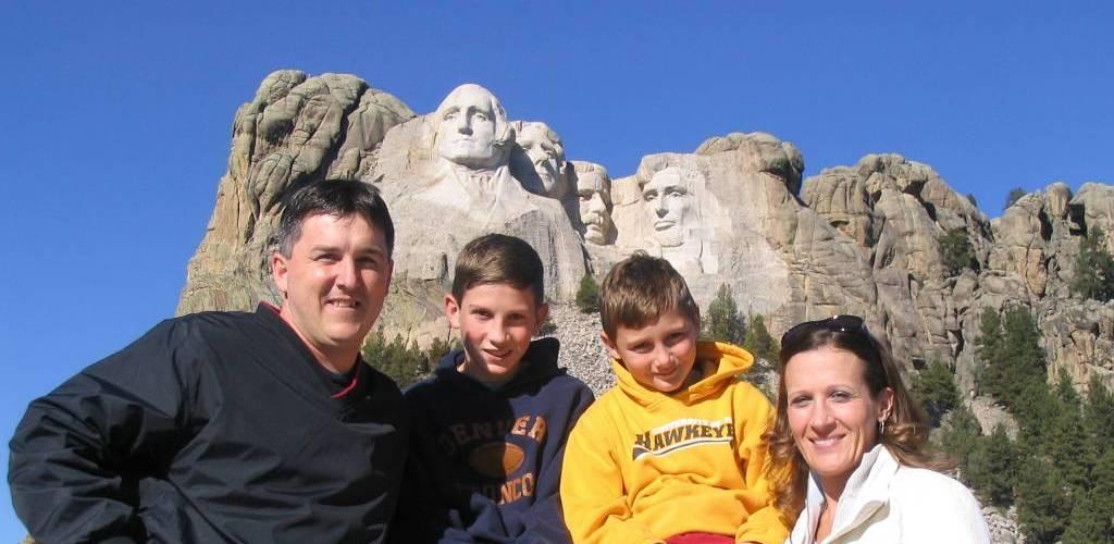 Pankeys at Rushmore