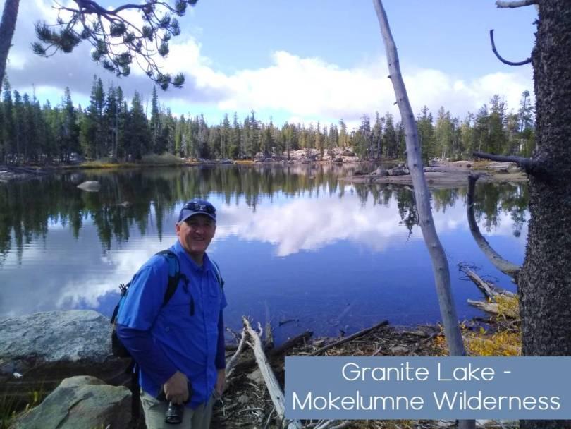 Silver Granite Hidden lakes Mokelumne wilderness
