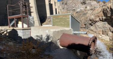 Gem lake Dam valve