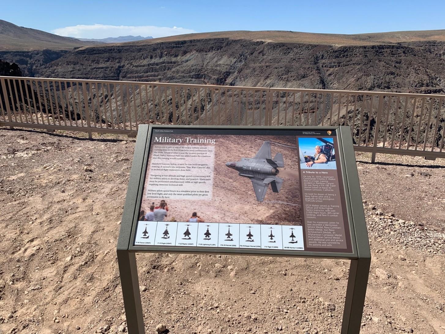 Rainbow canyon Death Valley National Park NPS/N. Bernard